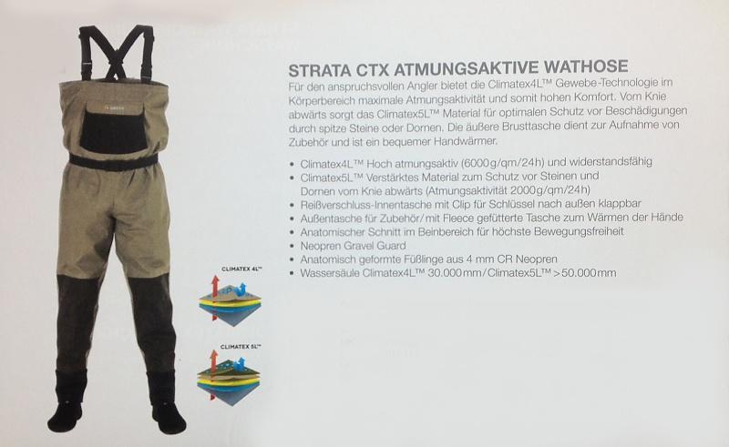 Greys Strata CTX Breatbhable Wathose 8 Gr/ö/ßen Lachs Forelle Game Grob Passen Angel Wasserfest Latz /& Hosentr/äger Gesamt